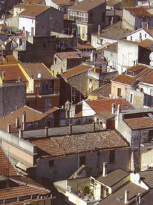 San Marco in Lamis seen from its bell-tower