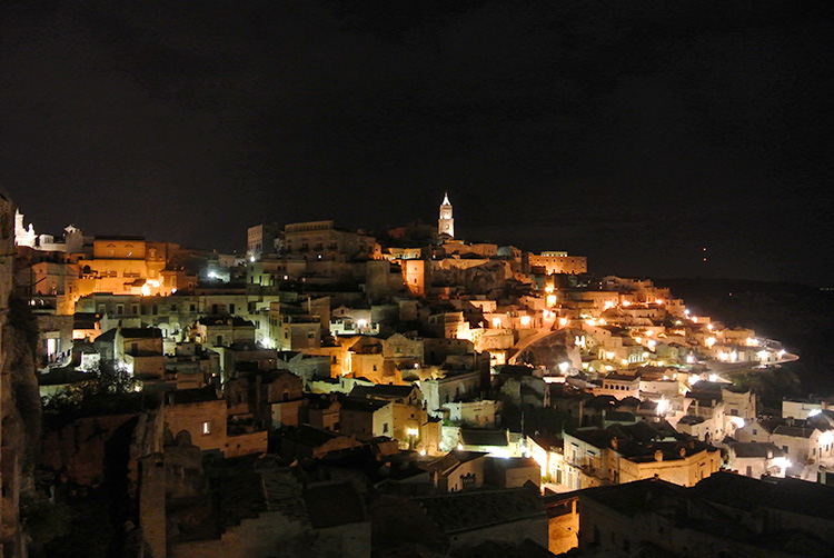 Dante's Purgatory in an enchanting Matera