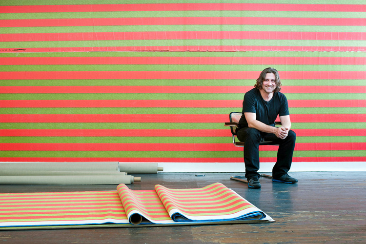 Mark Bradford and Wade Guyton