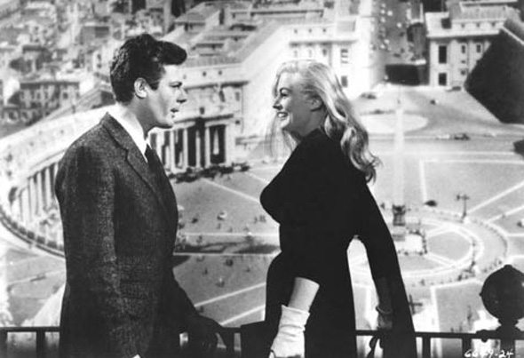 In Fellini's <i>La dolce vita</i>