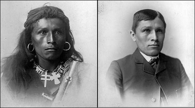 """Kill the Indian and save the man""