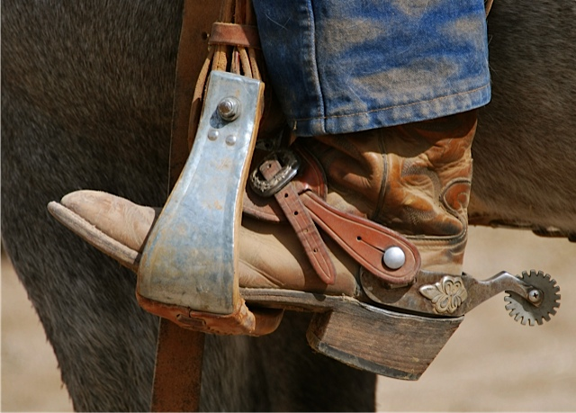 Branding, castrating and tagging.