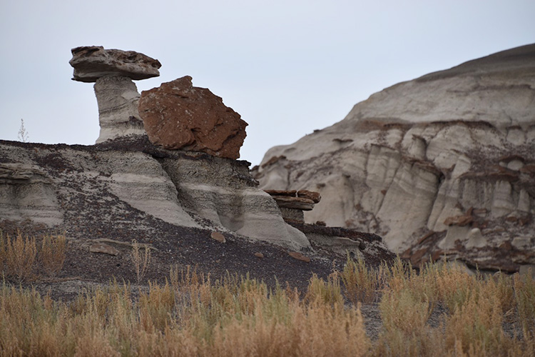 Bisti Badlands Paesaggi Lunari In New Mexico Splendido